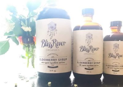 bliss river organics bottles